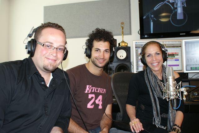 MARINA with TV Producer Noam Harary and Actor Brandon Osborn