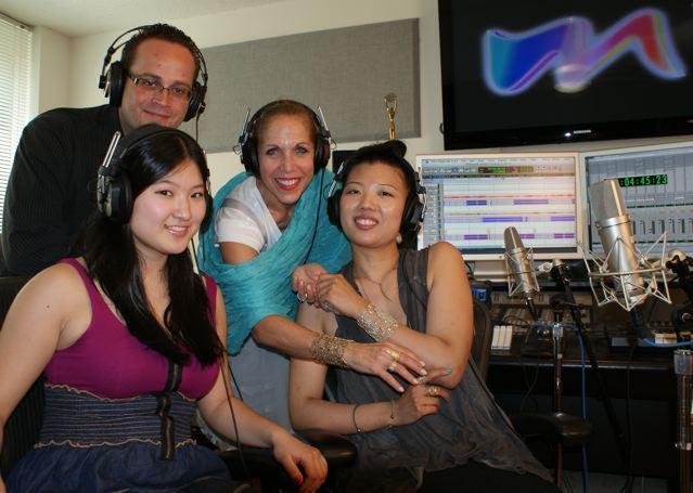 MARINA with Jewelry Designer Ayaka Nishi and Actors Yurina Kutsukake & Brandon Osborn