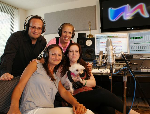 "MARINA with ""The Maury Show"" Producer, Aja Link, Brandon Osborn and Radio Dog"