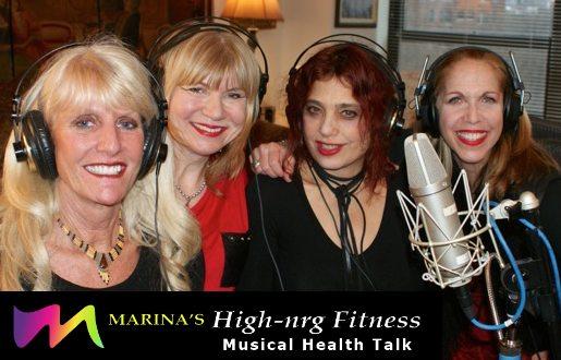 Marina Kamen aka MARINA with Rew Starr, Val Kinzler & Michelle Fury